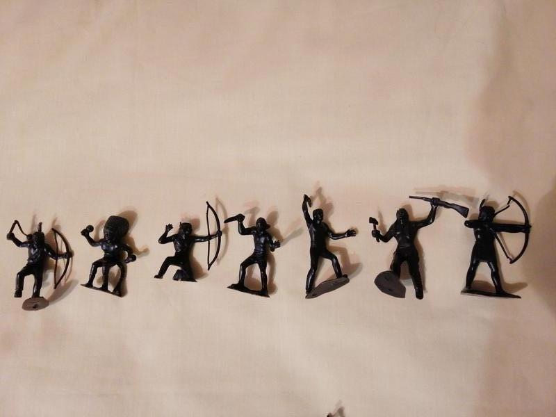 Фигурки солдатиков СССР индейцы - Фото 4