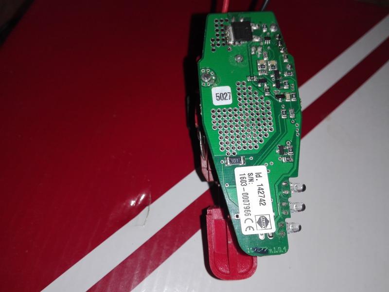 кнопка на шуруповерт SPARKY BR2 10,8Li-C HD оригинал.N142742
