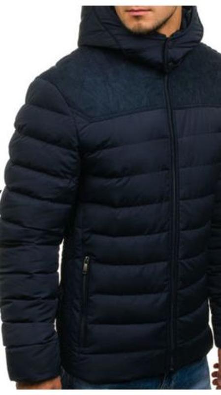 Куртка зимняя мужская - Фото 4
