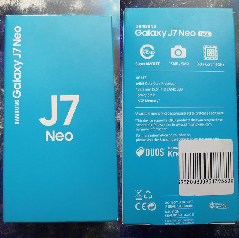 Смартфон Samsung J701F Galaxy J7 Neo GOLD