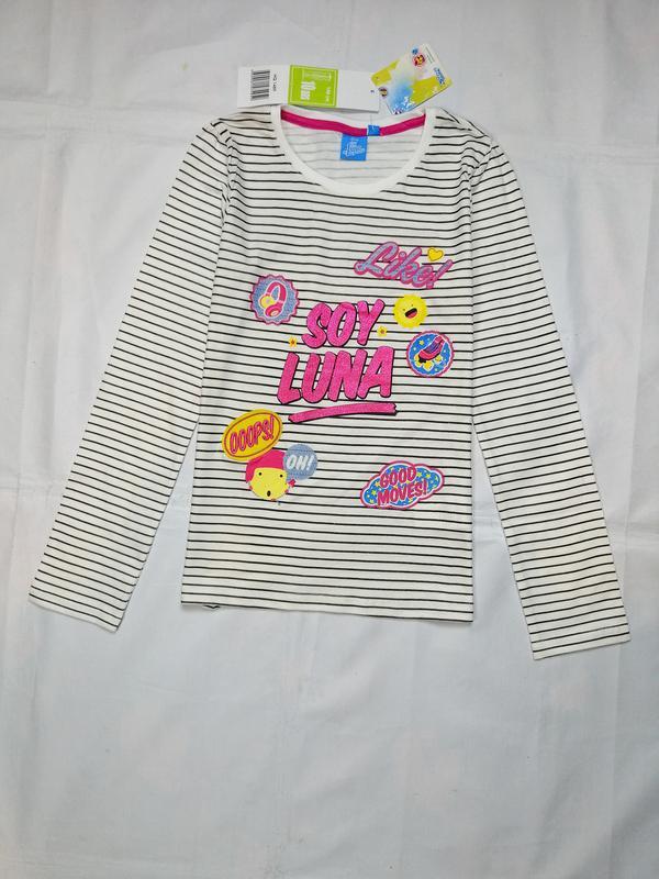 Реглан лонгслив футболка с длинными рукавами для девочки германия
