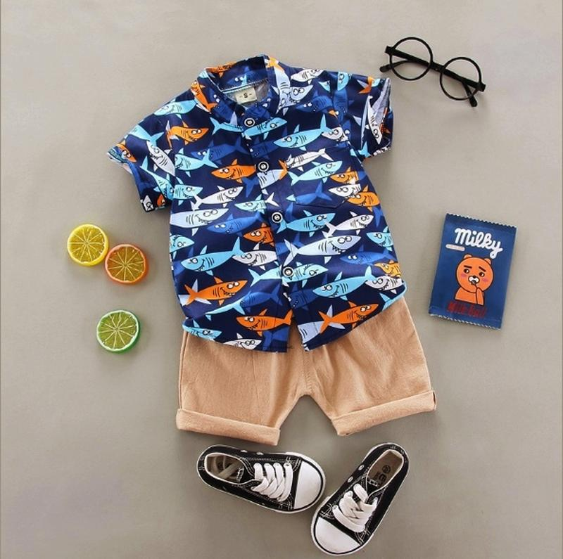 Костюм акулы,  рубашка и шорты