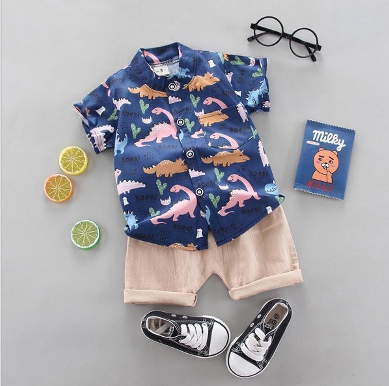 Летний костюм,  рубашка и шорты