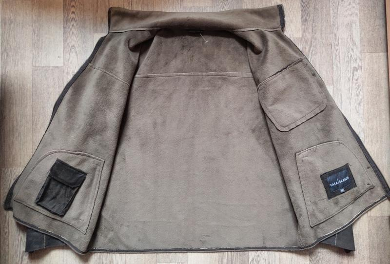 Мужская замшевая куртка Casa Blanca, размер XL - Фото 2