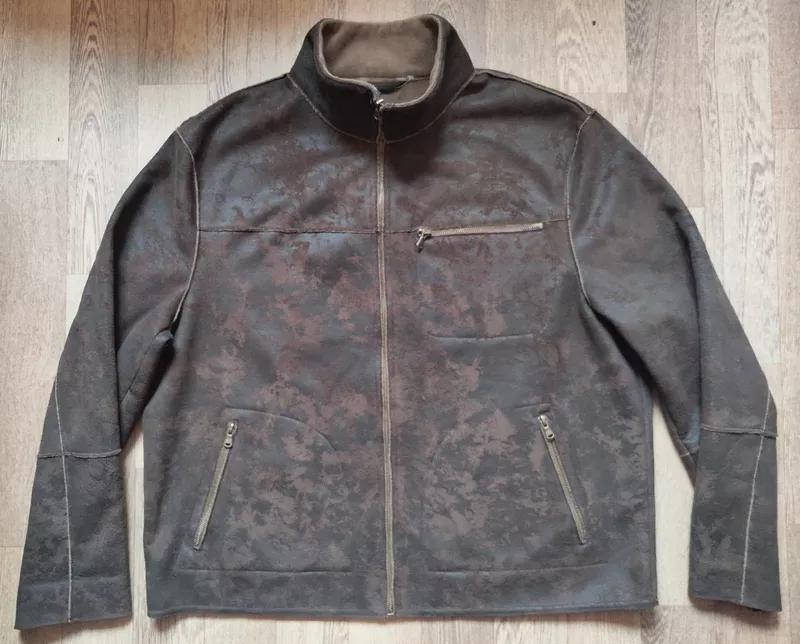Мужская замшевая куртка Casa Blanca, размер XL