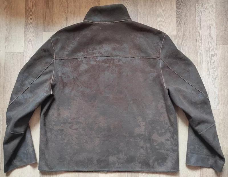 Мужская замшевая куртка Casa Blanca, размер XL - Фото 3