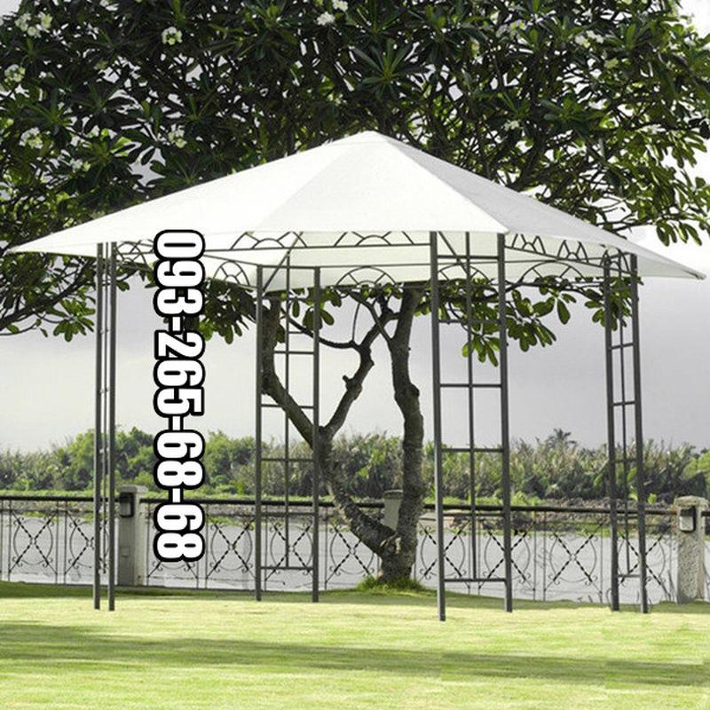 Садовый шатер 3x3, павильон, тент полиэстер.Не Китай. Новый - Фото 3