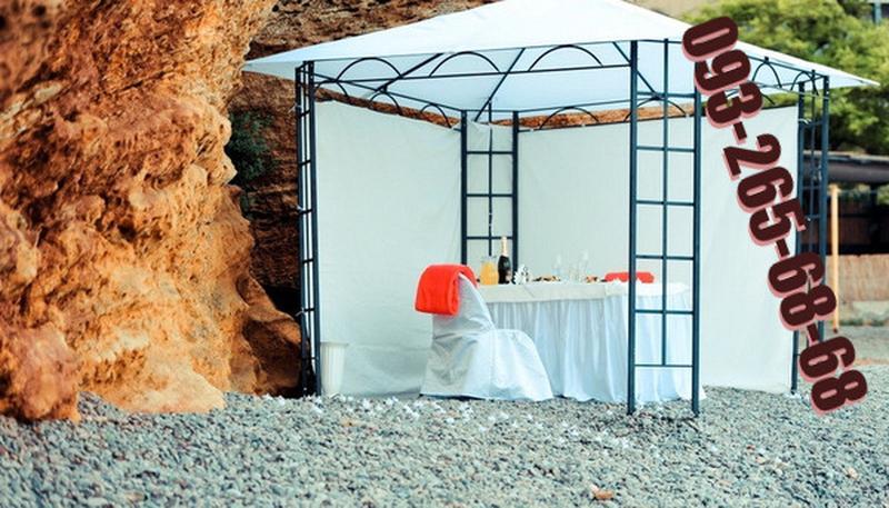 Садовый шатер 3x3, павильон, тент полиэстер.Не Китай. Новый - Фото 4