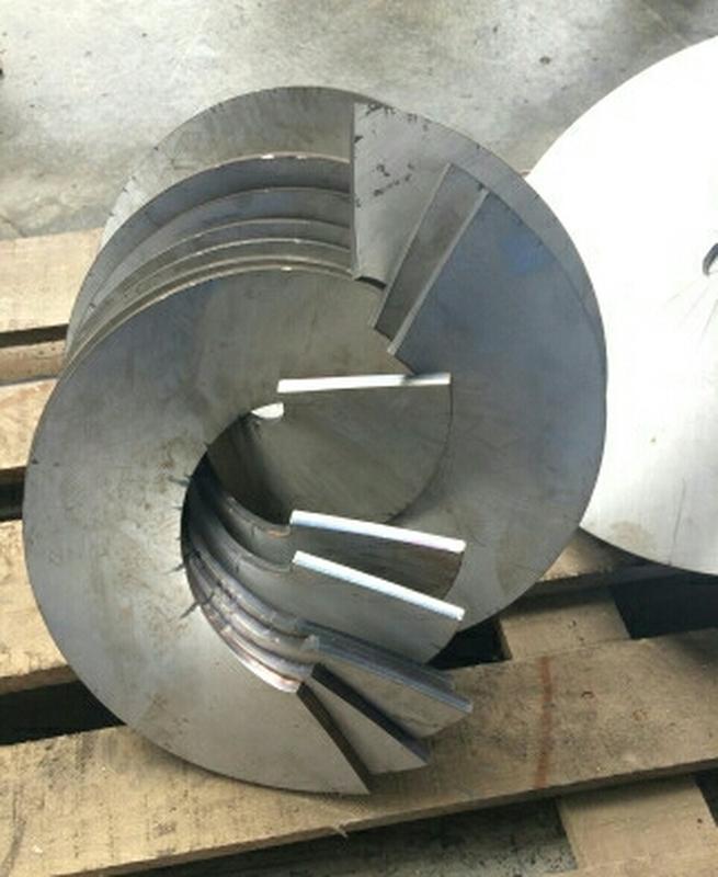 Витки шнека, сегмент шнека, спираль шнека - Фото 2