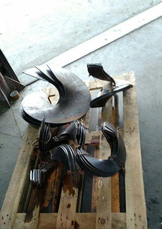 Витки шнека, сегмент шнека, спираль шнека - Фото 3