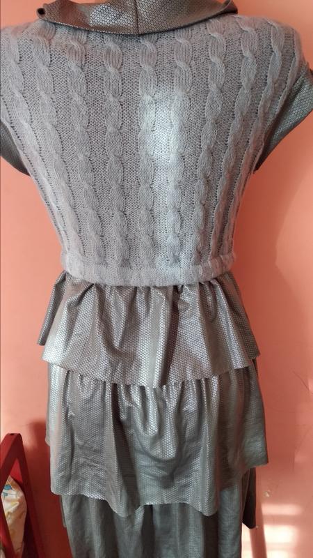 Новое платье теплое на девочку подростка - Фото 2