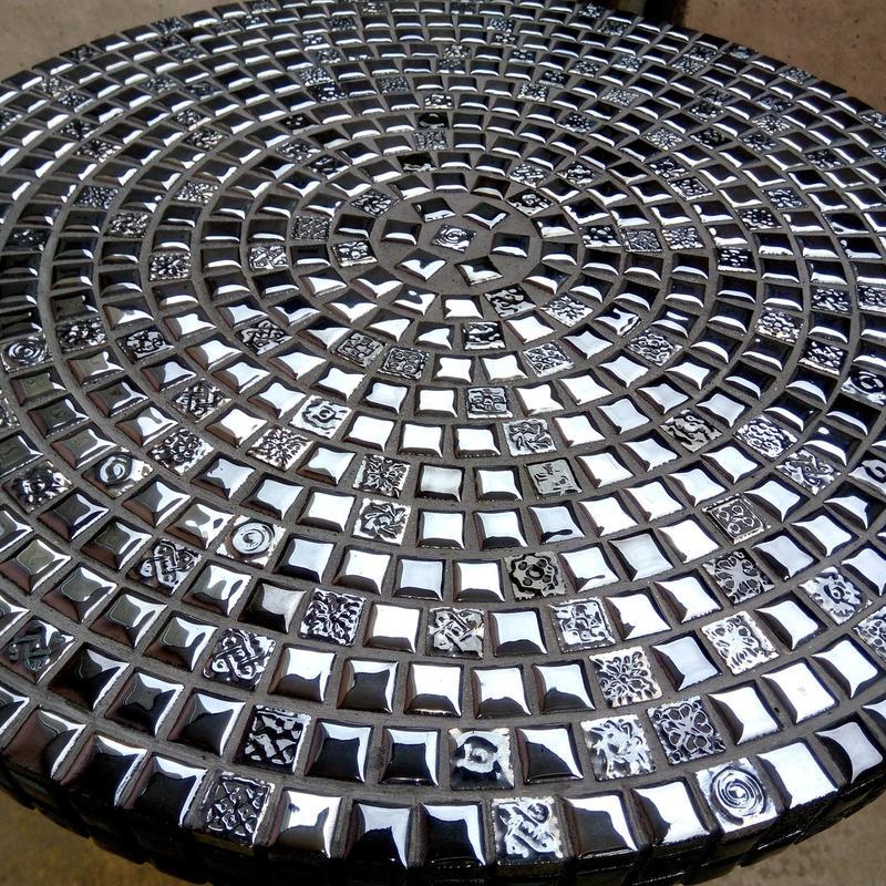 Кофейный столик из испанской мозаики. - Фото 2