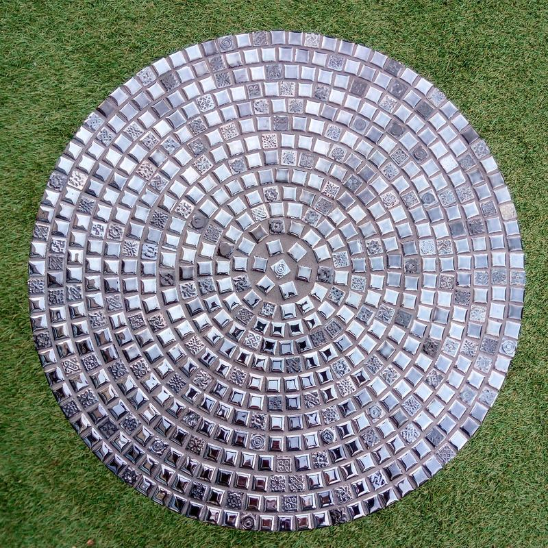Кофейный столик из испанской мозаики. - Фото 3