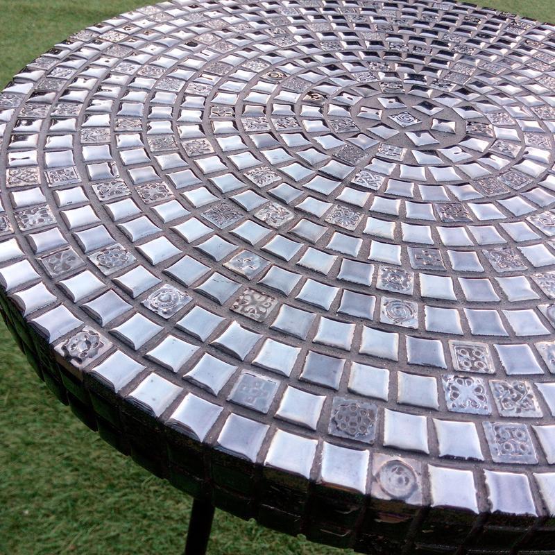 Кофейный столик из испанской мозаики. - Фото 4