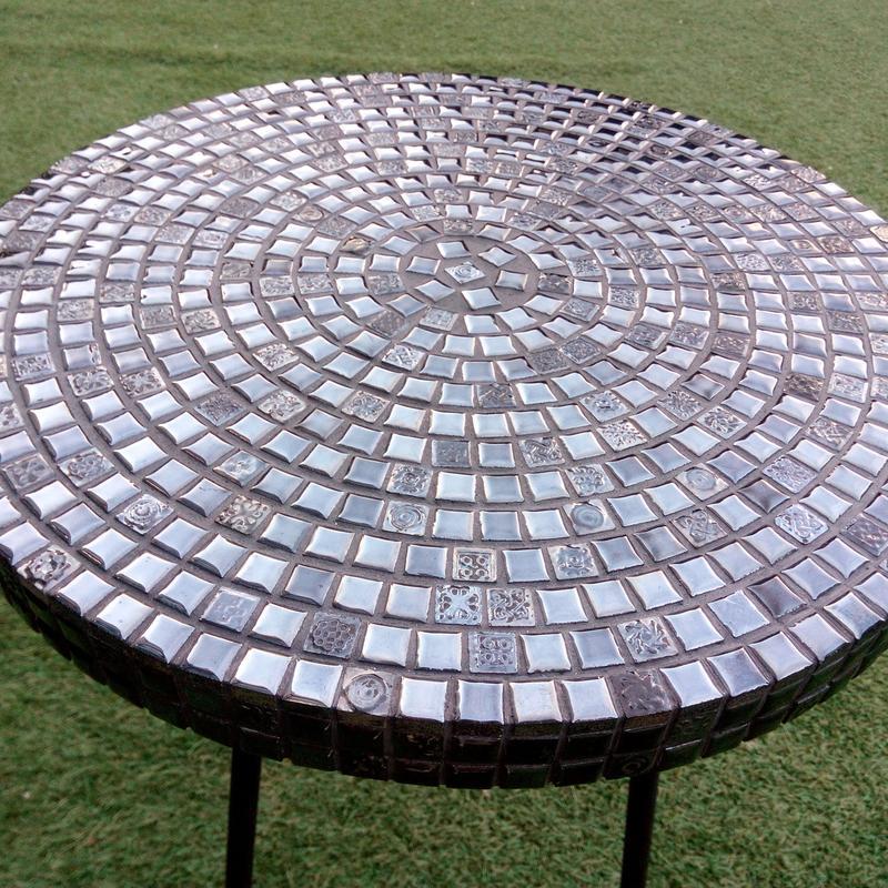 Кофейный столик из испанской мозаики. - Фото 5