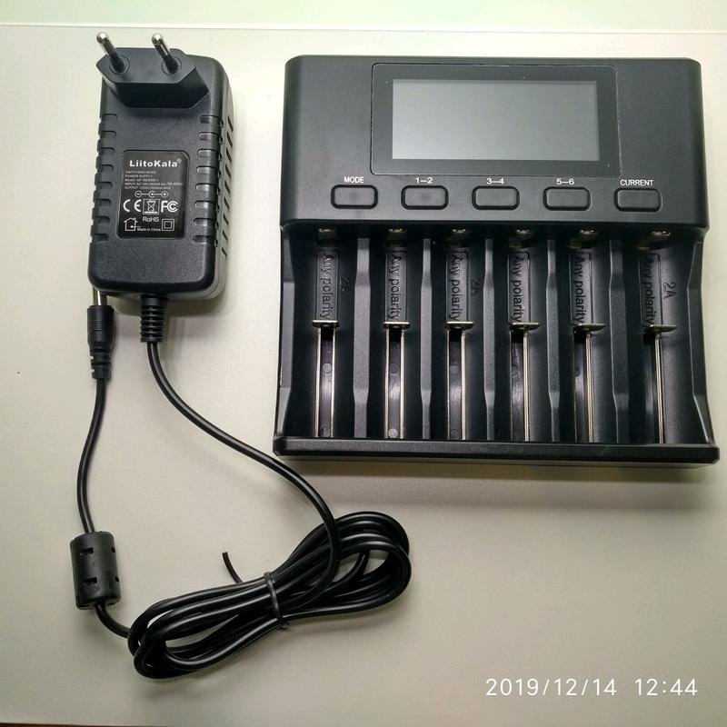 Зарядний пристрій liitokala lii-s6 - Фото 2