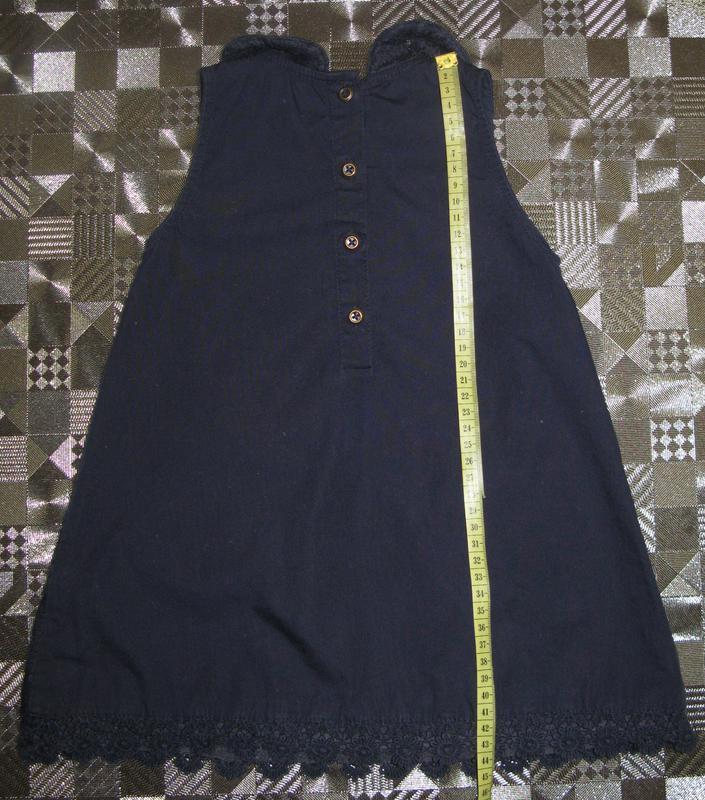 Элегантное кружевное платье для маленькой леди (12-18мес) - Фото 2