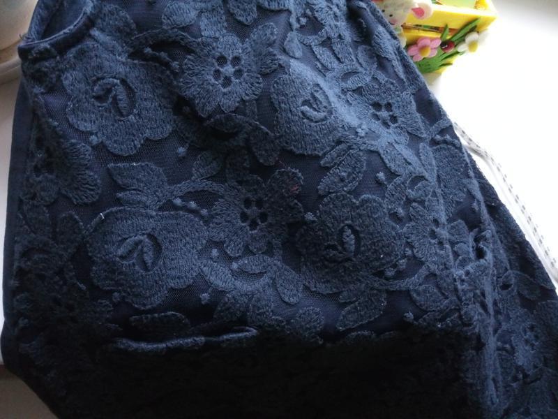 Элегантное кружевное платье для маленькой леди (12-18мес) - Фото 4