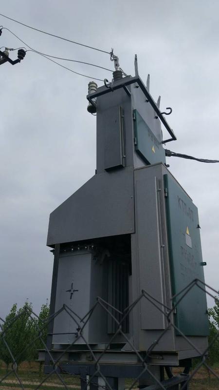 Підстанції трансформаторні комплектні КТПМ 25-250/10(6)/0,4 кВА.