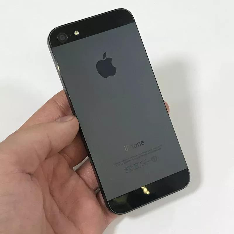 С Гарантией - Apple IPhone 5 16Gb Black Оригинал Бу - Фото 4