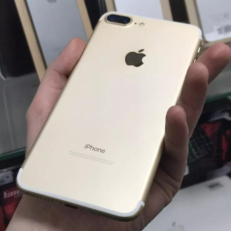 С Гарантией - Apple iPhone 7 Plus 32Gb Gold Neverlock Оригинал Б/ - Фото 3
