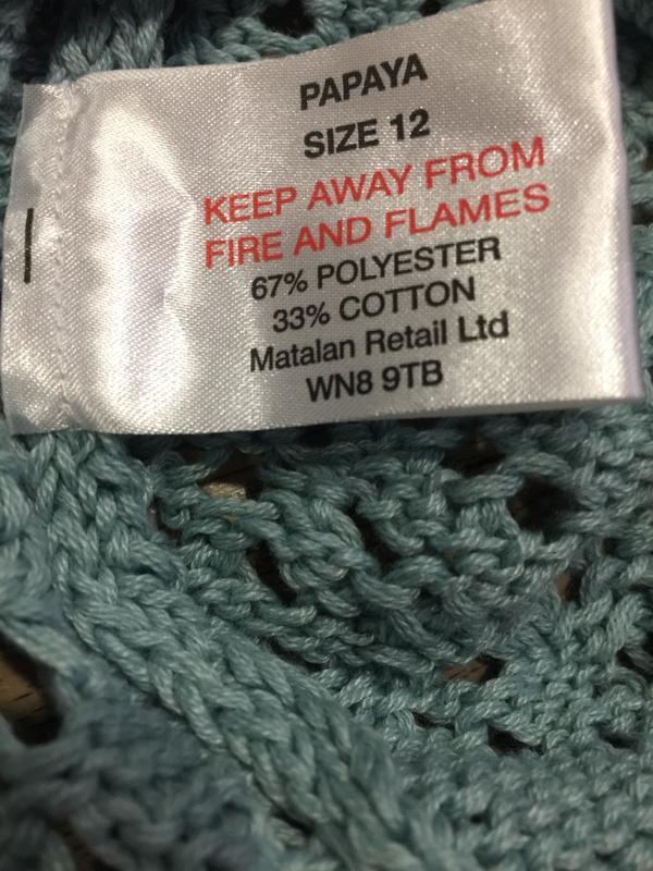 Супер -модный свитер с ажурным «дырчатым» узором.48 р!прелесть! - Фото 4
