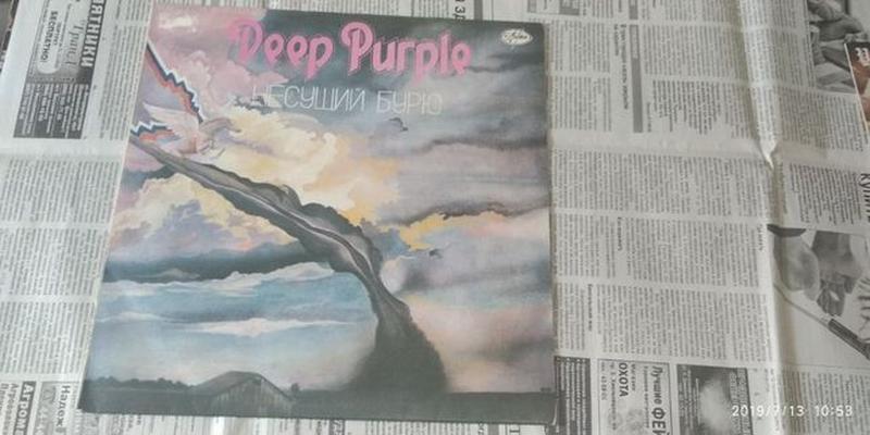 Виниловые пластинки Deep Purple