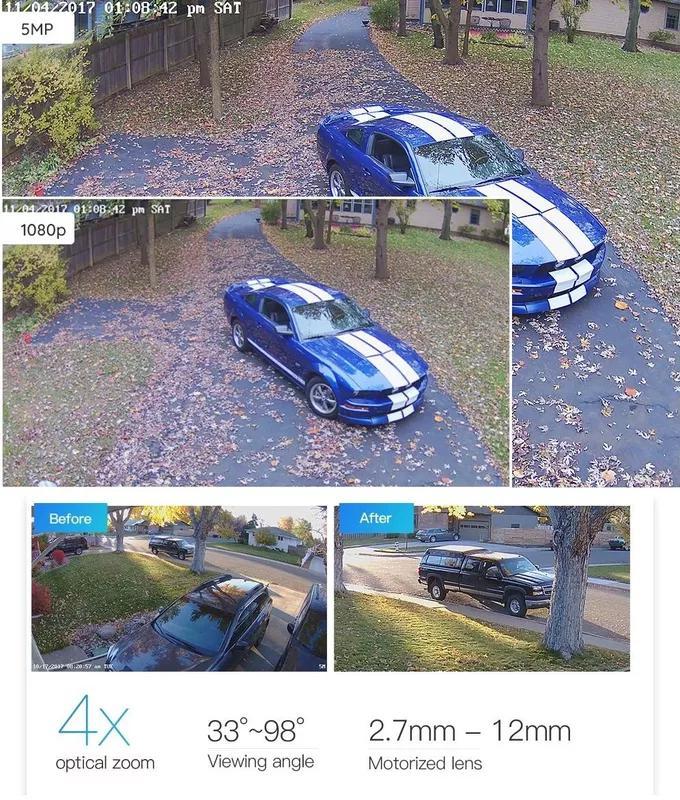 Reolink RLC-410 PoE 5MP уличная камера IP66 outdoor Camera Onvif - Фото 9
