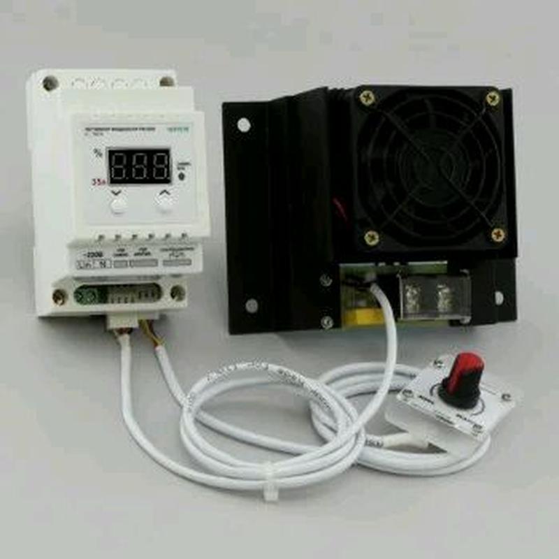 Регулятор мощности симисторный цифровой на DIN-рейкуРМ-35/D