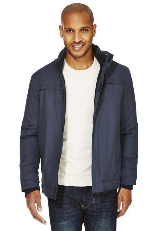 Стильная мужская куртка на флисе - Фото 2