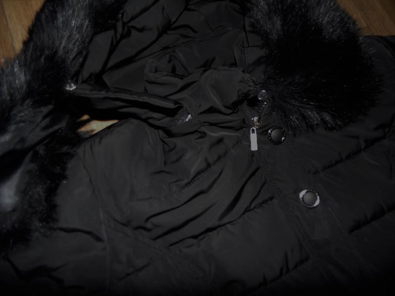 Зимнее длинное пальто куртка - Фото 3