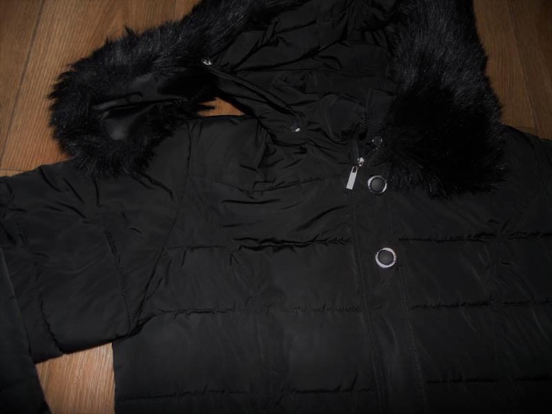 Зимнее длинное пальто куртка - Фото 5