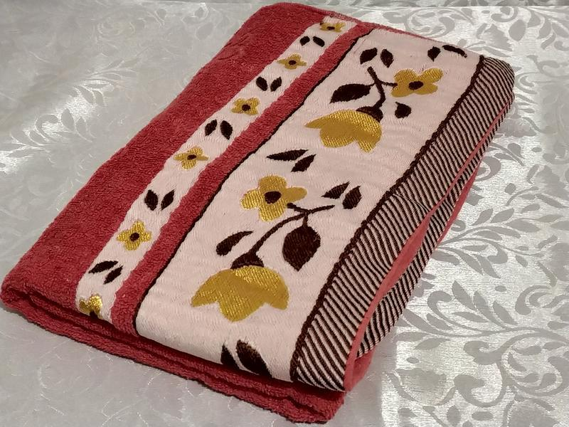 Банное махровое полотенце - Фото 2