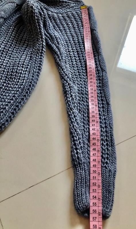 Костюм женский вязанный шерсть - Фото 2