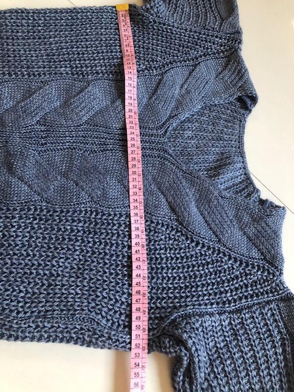 Костюм женский вязанный шерсть - Фото 3