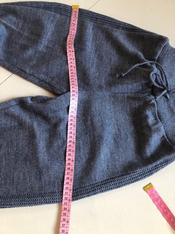 Костюм женский вязанный шерсть - Фото 5