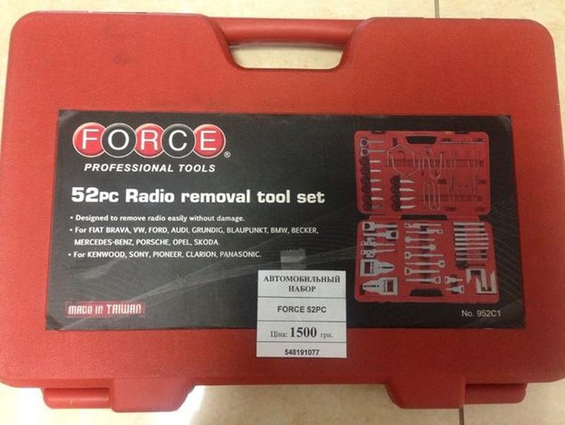 Набор для установки и снятия автоаудиоаппаратуры Force 52 - Фото 2
