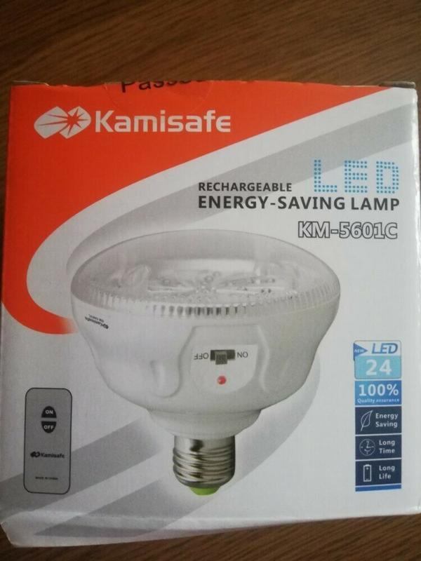 Лампа с пультом 24 LED - Kamisafe KM - 5601С