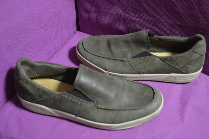 Кожаные мужские туфли lowa 45 р.