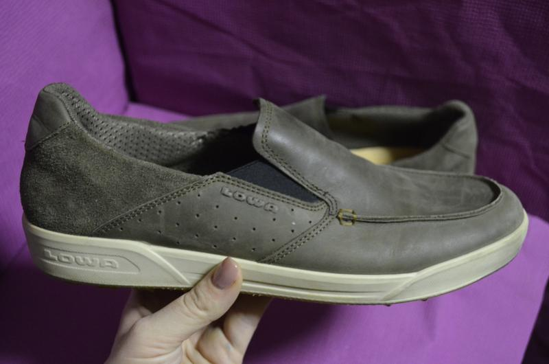 Кожаные мужские туфли lowa 45 р. - Фото 2