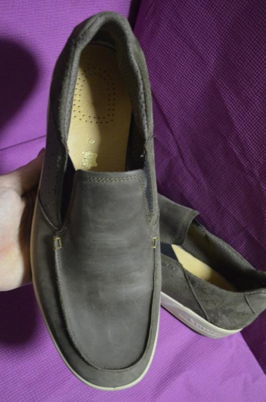Кожаные мужские туфли lowa 45 р. - Фото 3
