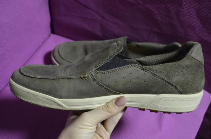 Кожаные мужские туфли lowa 45 р. - Фото 4
