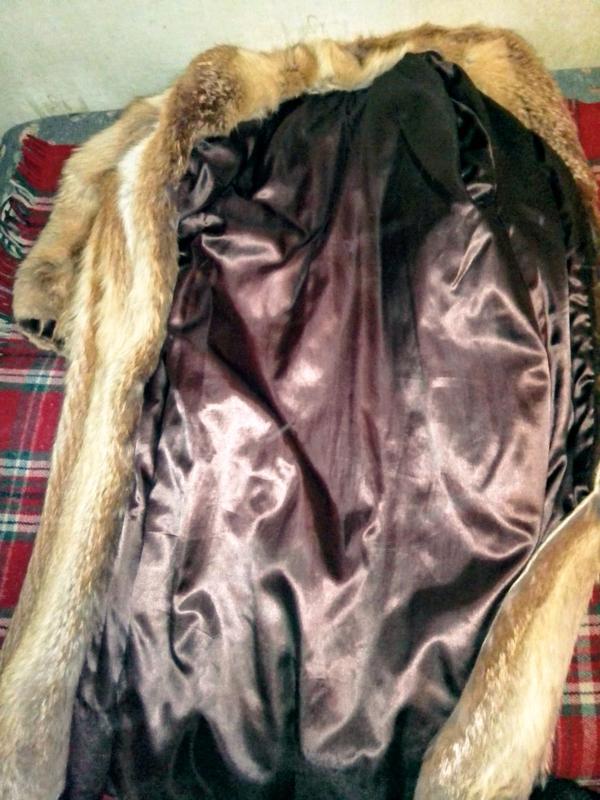 Шуба хутро лисиця натуральный мех лиса - Фото 5