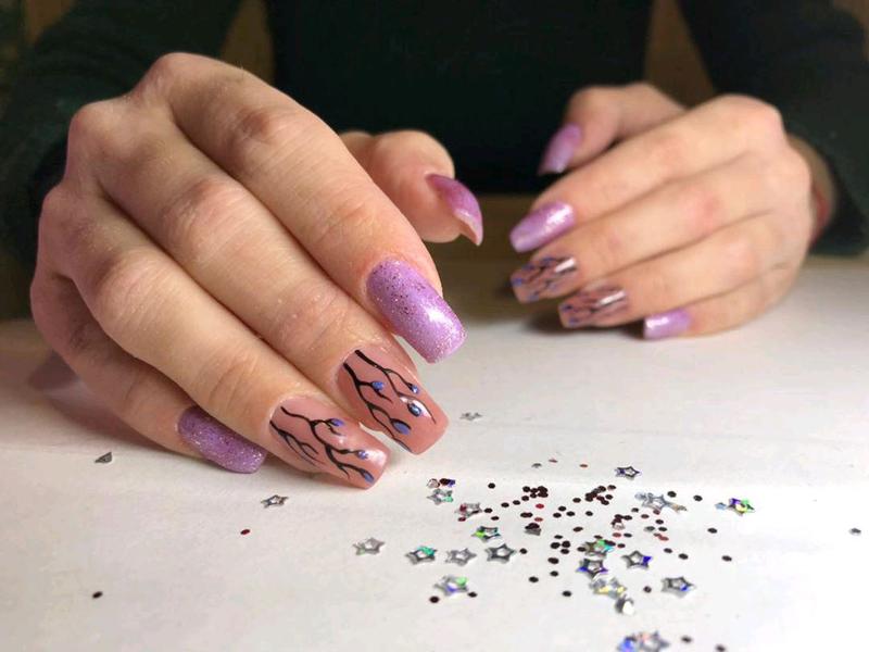 Наращивание ногтей, маникюр, гель лак, укрепление ногтей - Фото 3