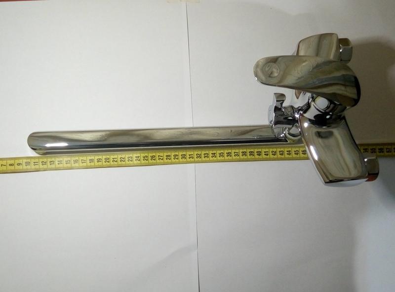 Змішувач для ванни , ванної Zerix JXD-6-A135 смеситель для ванной - Фото 3