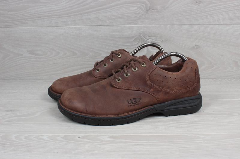 Кожаные туфли ugg australia оригинал, размер 40 - 41 (стельки ... - Фото 5