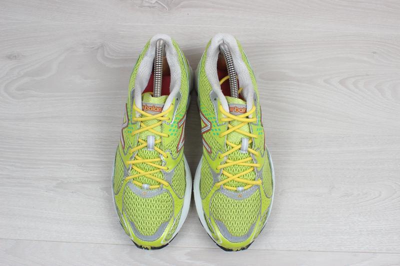 Яркие спортивные кроссовки new balance оригинал, размер 38 (бе... - Фото 2