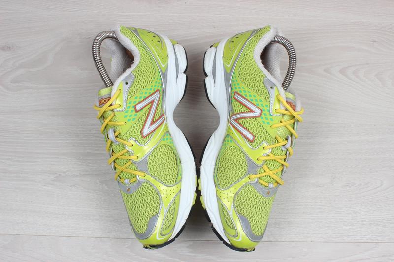 Яркие спортивные кроссовки new balance оригинал, размер 38 (бе... - Фото 3