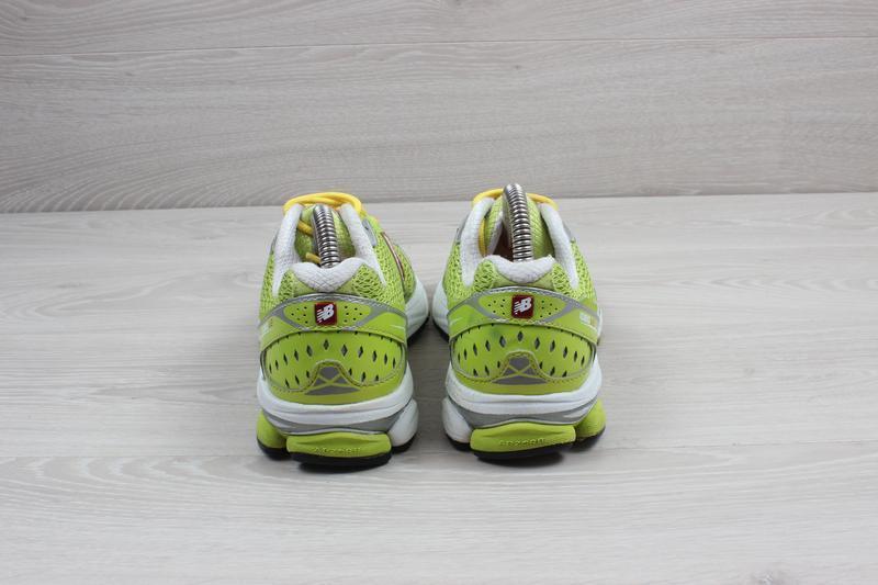 Яркие спортивные кроссовки new balance оригинал, размер 38 (бе... - Фото 5