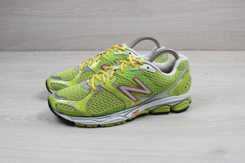 Яркие спортивные кроссовки new balance оригинал, размер 38 (бе... - Фото 6